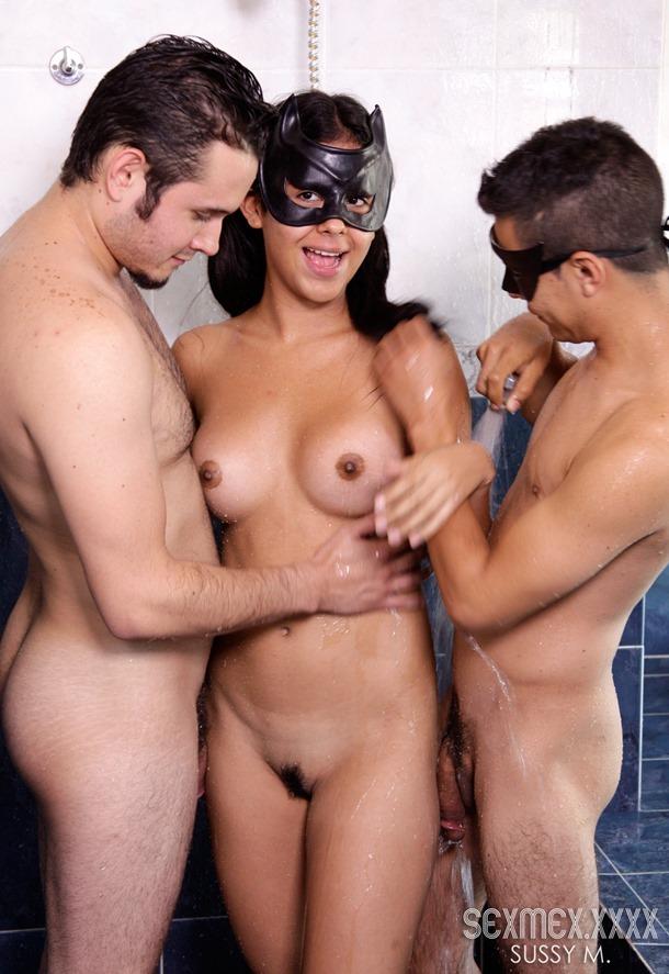 hot sexmex shower